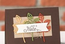 Fall Cards & Projects Stampin' Up