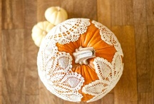 Simple Fall Decor / Celebrating all things easy, elegant and autumnal.  / by Shannon Madigan (Madigan Made)