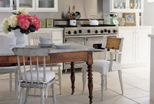 Kitchens...heart of the home. / Beautiful kitchens always the heart of a home! / by Victoria Hayden Designs