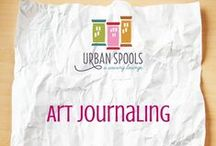 Art Journaling / Art Journal inspiration - Bullet Journaling