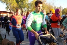 Boo Run Run 5k Halloween Costume Inspiration / The 6th Annual Boo Run Run 5K benefitting Community Neighborhood Housing Services will be held Saturday, October 18, 2014. Get your costume ideas and get ready to run! Dogs and strollers are welcome.  http://boorunrun.org   / by Community NHS