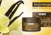 Italian Beauty / BluOrange ARGAN OIL- Beauty hair treatment made of Argan oil, ideal for all hair types that nourishes the hair fibres, restoring new smoothness, elasticity and shine. It works against dryness and split ends.