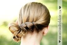 Simple Hair / DIY hair tips / by Shannon Madigan (Madigan Made)