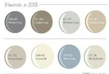 Paint Colors for New House