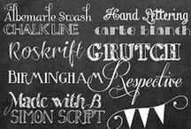 typography / by jhani.