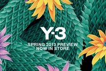 Y-3 / Y-3 is the collaboration between renown Japanese fashion designer Yohji Yamamoto and the authentic sports brand Adidas. It is a cooperation in sport and fashion that creates contemporary quality sportswear with a unique look.