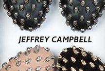 Jeffrey Campbell / Jeffrey Campbell Shoes capture the essence of the street; weaving it together with a vintage style and runway flair, creating a line of shoes instantly recognizable the world over.