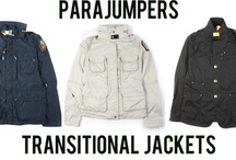 Parajumpers / Inspired by the men of the 210th Alaskan-based rescue squadron, and built with inspiration of their strength and agility, parajumpers jackets were born.