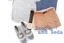 Scotch & Soda / Scotch and Soda are about nothing more then the clothes themselves. The Amsterdam based fashion brand focuses on products rich in detail and of high quality with the goal of making great garments that suit every individual.