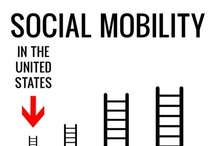 Social Class: Social Mobility / Americans often think of their society as one which allows anyone to get ahead, as long as they are willing to work hard. However, the evidence suggests that upward social mobility may be more prevelant in Western Europe than the U.S. This board explores intergenerational and intragenerational mobility. Drawing from empirical research, the board highlights just how likely it is for people to move up or down in social class.