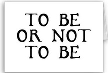 To be or NOT to be.... / If only I didn't choose Nursing first.....My SECOND passion