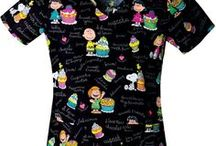 Charlie Brown Scrubs / Charlie Brown Scrub Tops