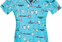 Dental Scrub Tops