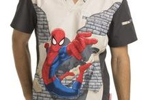 Spiderman Scrubs