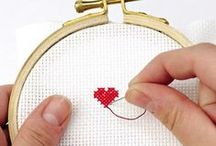 Modern cross stitch / We love cross stitch with a modern sensibility. Find contemporary cross stitch patterns, designs, and inspiration from the best modern cross stitch makers.