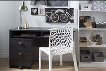 Contemporary Home Office / Contemporary home office design inspiration.