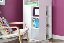 Radiant Orchid Decor / If you love purple mixed with your furniture and home decor, this is it!