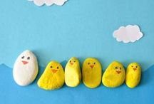 Simple Kids Crafts / Simple craft ideas to make with the kiddos.  / by Shannon Madigan (Madigan Made)