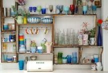 SHELVING for KITCHEN and LOUNGE / by Moira Hickman