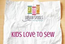 Kids Love to Sew / Sewing projects for kids