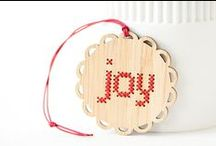 Holiday stitching / Cross stitch and other needlework projects for a happy holiday!