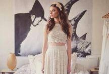 Wedding Dress Shopping / Wedding dress ideas / by Morgan Shuker