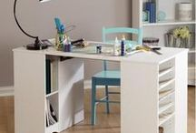Craft Tables - Inspiration / Craft tables offered by South Shore and others we love.