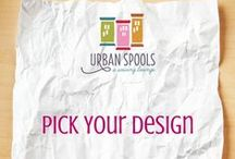Pick Your Design / Digital Designs available for quilting services at Urban Spools