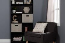 Storage baskets - Inspiration / Storage baskets made by South Shore and others we love.