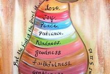 The Fruit of the Spirit is.......