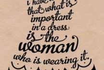 ☯ Famous Fashion Quotes ☯ / Famous Fashion Quotes I like it!