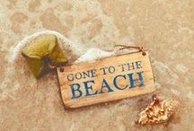 At the Beach . . . / I live for the warm sunshine of summer days! / by Jodie Zerr