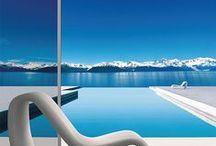 Design piscine / Des piscines aux architectures les plus incroyables les unes que les autres. On vous propose de rêver un peu dans ces décors magnifiques !