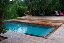 Nos terrasses mobiles  / L'abri de terrasse mobile pour piscine de la société Octavia, est idéal pour les surfaces de petite taille. Lorsque la terrasse couvre entièrement  le bassin. Votre piscine se transforme alors en un véritable espace de loisirs.
