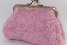 Coin Purses and Wallets / Coin Purse, mini clutch purses, wallets and zip purse, all shapes, sizes, colours and fabrics.