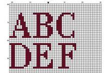 Вензель Герб Вышивка Гладь Схемы Крестик / Алфавит, вензель, герб
