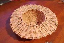 Плетение из лозы, газеты и др. / корзины, абажуры, мебель и т.п.