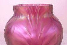 Vase Cranberry