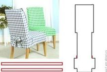 Чехлы Обивка Покрывала на мебель / варианты текстильных изделий