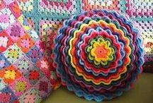 Многоцветное Вязание Крючек Схемы / образцы вязания крючком из ниток разного цвета