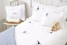 Luxury Bed Linen for Babies & Children / Hand embroidered duvet covers and pillowcases for babies & children