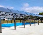 Nos abris pour activités de plein air / Octavia leader de l'abri de piscine grande largeur ! Destiné principalement aux activités de plein air et aux secteurs du tourisme : hôtels, campings, espaces aquatiques, piscines publiques !