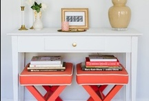 Inspiration for the Home / Live life boldly, with style and BRIGHT!