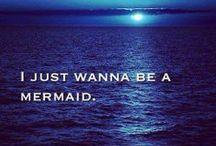 Mermaids / Mermaids, mermen, merfolk, and all other things fantastic and aquatic / by Skye Malone