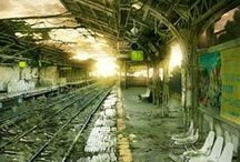 Abandoned / Old abandoned places - urban exploration