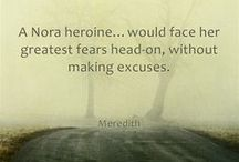 NORA ROBERTS LAND QUOTES / Here are some fun quotes from the book. Enjoy!