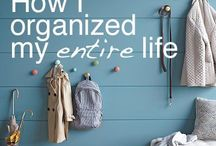 Organised life! / Lots of ideas to organise your life, someday i might even get round to trying some of them out!