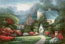 Thomas Kinkade-Artist / by renee ward