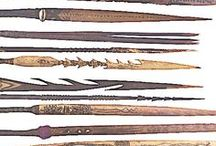 Tribal  / Weapons and armour from traditional cultures.