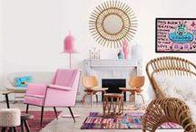 Interior Design - Boho Style / Inspiration for interior design (style: boho)